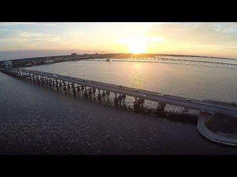 Aerial Bradenton Florida - Manatee River