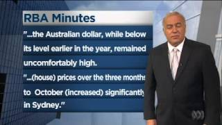 The Australian dollar has fallen back after the release of the RBA's minutes Thumbnail