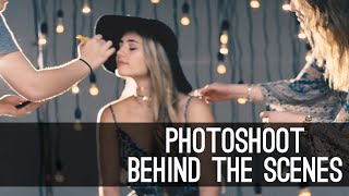 Behind the Scenes of my Photoshoot - Lia Marie Johnson