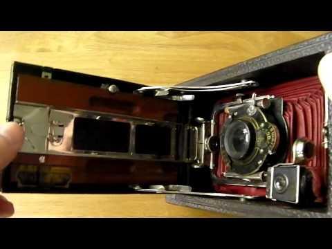 Rare Antique Kodak No 3A Model 4-B Folding Pocket Camera c1910