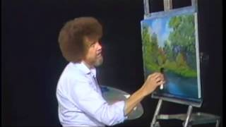 Bob Ross_ Autumn Stream Clip (With Happy Accidents)