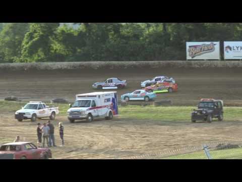 Florence Speedway | 6.17.17 | Hornets | Heat 1