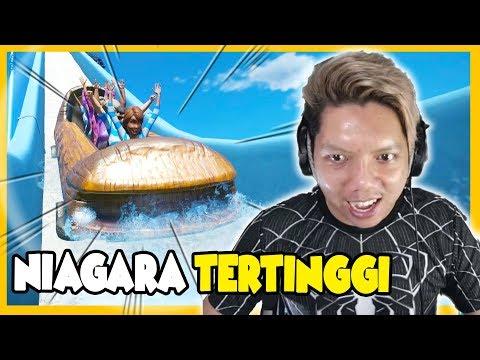 NiAGARA TERTiNGGi DAN TERPANJANG !! 😂 Planet Coaster Indonesia #21
