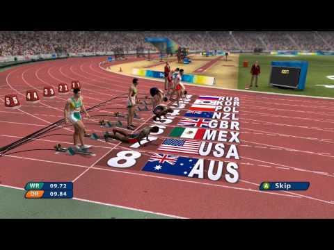 Beijing 2008: The Official Video Game - Men's 100m