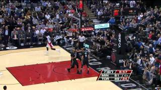 Raptors Highlights: Johnson With The Flush - March 18, 2015