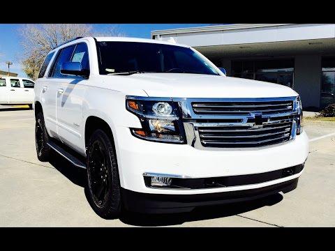 2016 Chevrolet Tahoe Ltz Full Review Start Up Exhaust Short Drive