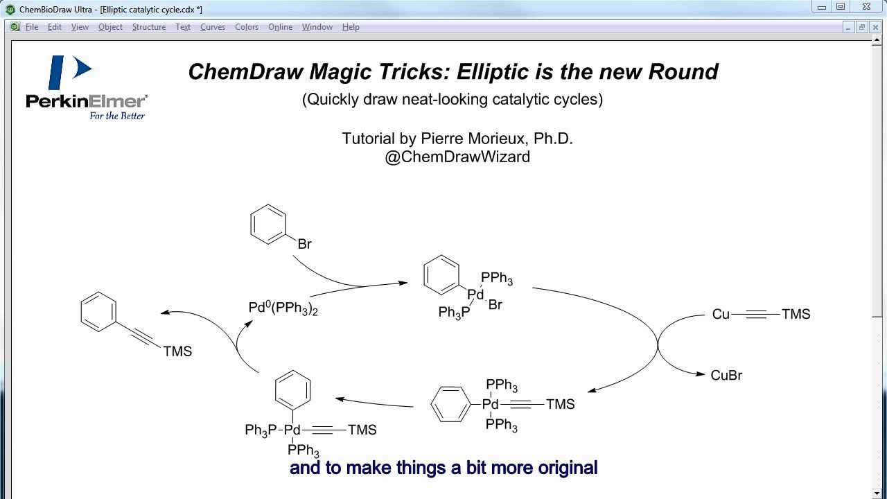 How To Draw Chemical Structures In Word with ChemDraw