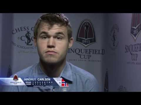 Magnus Carlsen Disappointed, Unhappy and Upset vs Alex Grischuk Sinquefield Cup Confessional Booth