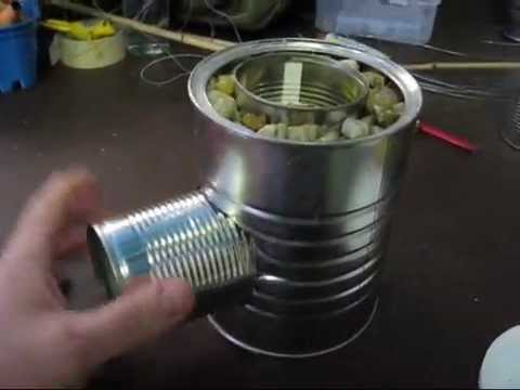 Make your own rocket stove for free youtube for Build your own rocket stove