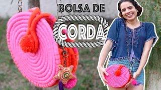 DIY: BOLSA DE CORDA – Linda e fácil