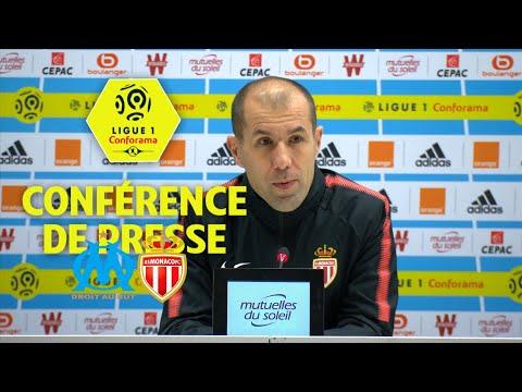 Conférence de presse Olympique de Marseille - AS Monaco (2-2) / 2017-18