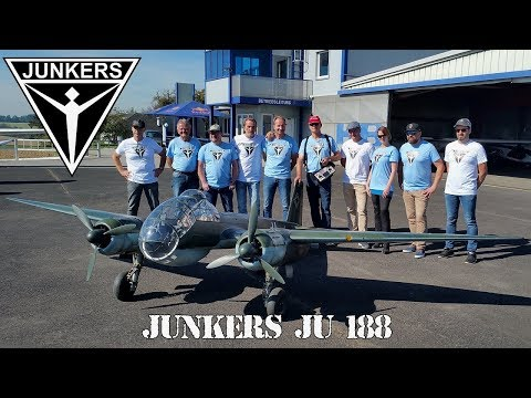 GIANT RC JUNKERS JU-188 MAIDEN