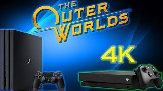 Microsoft Slaps PS4 Pro Owners By Making Outer Worlds 4K On Xbox One X Only!?