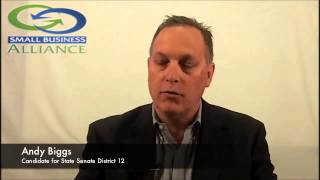 Andy Biggs for 2014 State Senate LD12 - Question 5