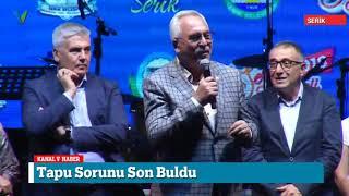 Serik 2018 Festivali Başladı