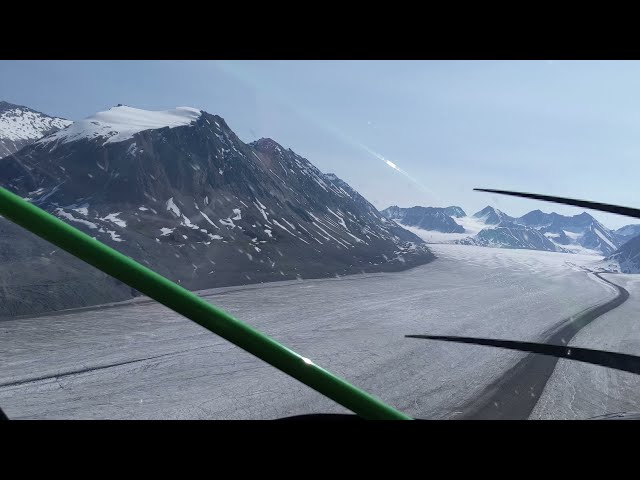 Wrangell-St. Elias N.P., Alaska - Flight from Ultima Thule Lodge to Icy Bay 2021 Jul. 05