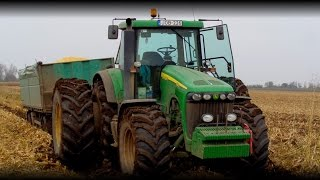 "*Superteam* 2014 - John Deere 8320 ""Legend"" vs. MAN TGA 18.400"