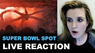 Stranger Things Season 2 Super Bowl Trailer REACTION