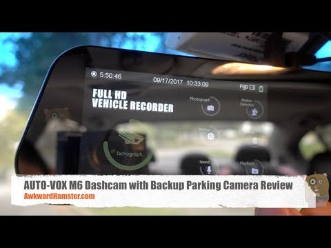 AUTO-VOX M6 Dashcam with Backup Parking Camera Review