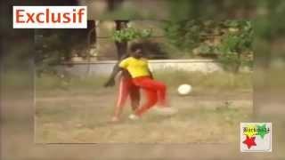 Inédit - Thomas Sankara joue au foot derrière la présidence du Faso