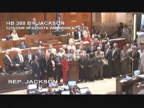 Concurrence Vote on HB 388: Video 2