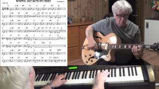 Steppin' Out With My Baby - Jazz guitar & piano cover ( Irving Berlin )