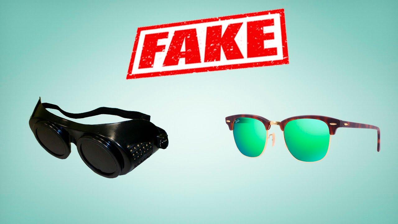 ray ban clubmaster real vs fake