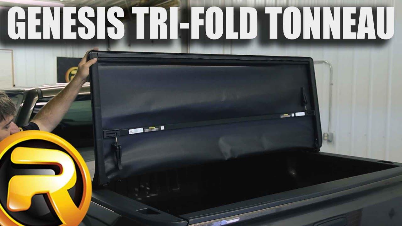 How to Install Lund Genesis Tri-Fold Tonneau Cover