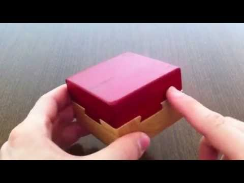 Solution for Deja Vu Wooden Puzzle From Puzzle Master
