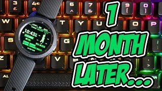 1 Month Review Of The Samsung Galaxy Watch - 42mm Midnight Black