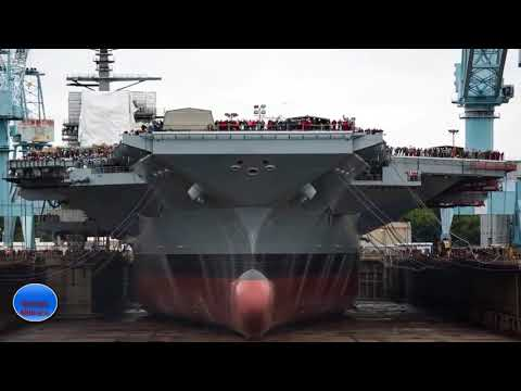 Why China and Russia Fear America's New Ford Class Aircraft Carriers