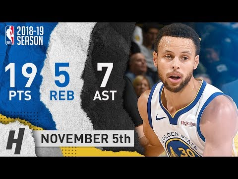 Stephen Curry Full Highlights Warriors vs Grizzlies 2018.11.05 - 19 Pts, 7 Assists