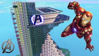 AVENGERS TOWER IN FORTNITE CREATIVE!! (WITH CODE)