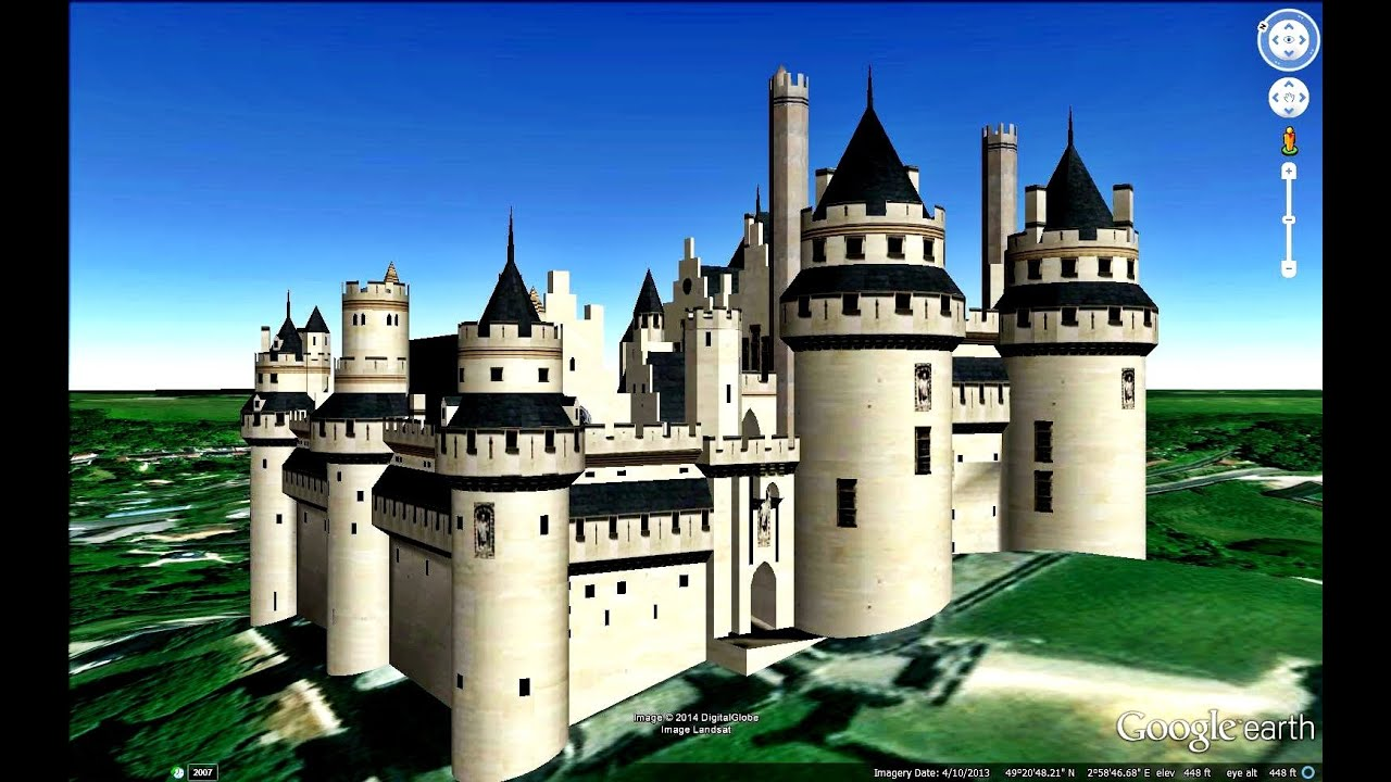 historical places of france in google earth part one 1 9 youtube