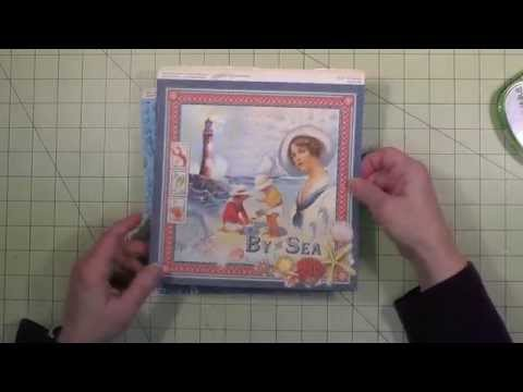 By The Sea Tunnel Book - Construction Part 1