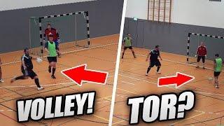 HALLENFUSSBALL!⚽🔥 METI IM FELD 😱 FT. GEILE TORE, 1 VS 1, VOLLEYS & MEHR | PMTV