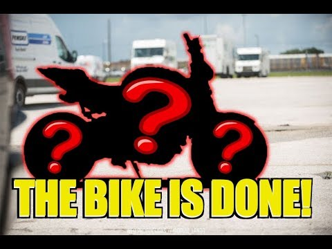 THE FIRST RIDE! - $600 Budget Build Motorcycle FINALE