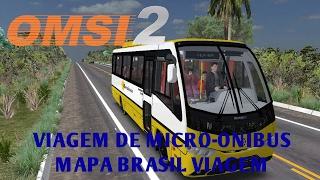 OMSI 2 - VIAGEM DE MICRO-ONIBUS (MAPA BRASIL VIAGEM)