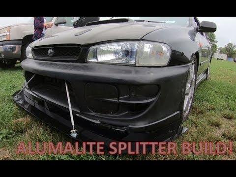 DIY Splitter Build From Alumalite GC8 RSTI With Aerocatch Latch Install