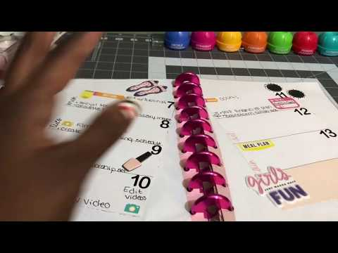 DIY Planner from a Happy Planner Notebook