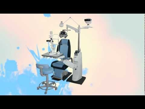 AIT Industries - Melody Ophthalmic Examination Chair And Stand