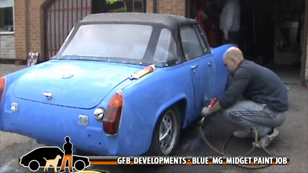 mg midget orchid paint