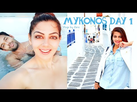 What To Do In Mykonos Town | Mykonos Greece | Travel Vlog Day 1