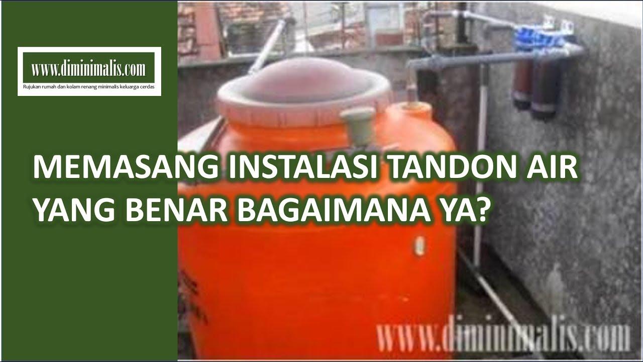 diminimaliscom   Memasang Instalasi Tandon Air Rumah