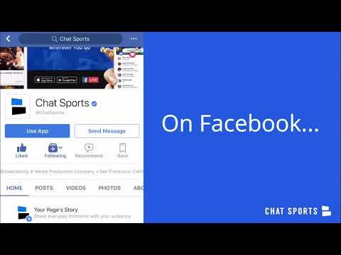 Welcome to Chat Sports - the leading post-cable live sports channel. Come along for the ride!