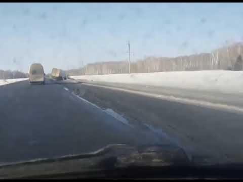 ДТП на трассе Курган - Челябинск