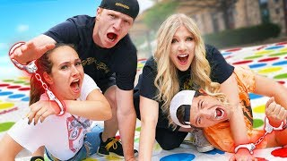 Couples HANDCUFFED Together Challenge vs UNSPEAKABLE! Video
