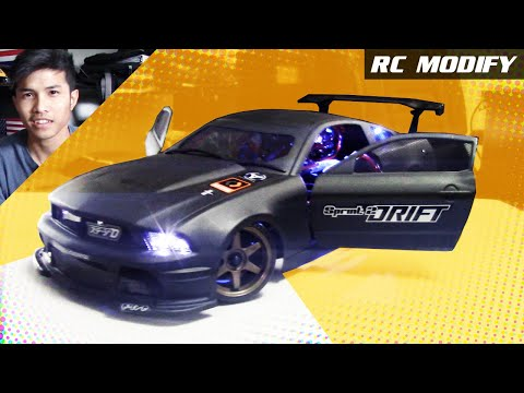 RC Modify 12 | FORD Mustang On 1/10 HPI Sprint 2 Drift