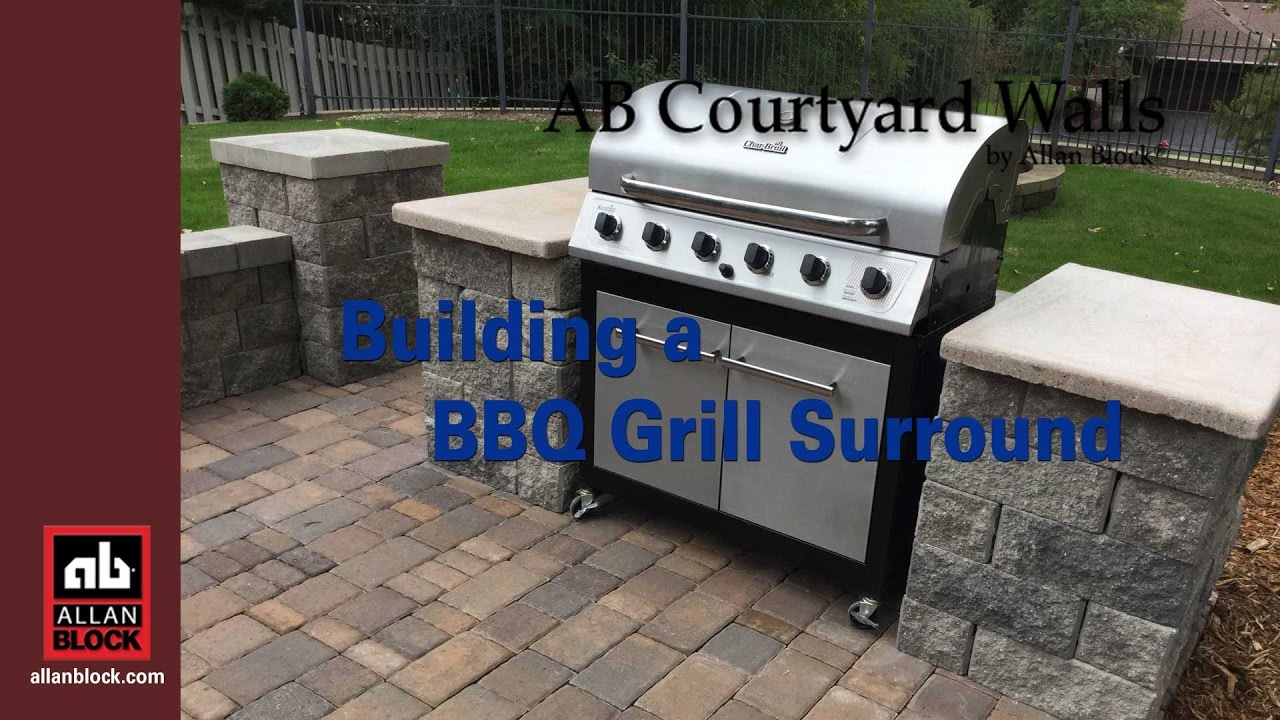 Outdoor Grill How To Build A Bbq Grilling Station Or Grill Surround