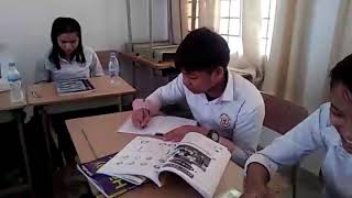 Students of IFL in Uhst  they are study hard😢 for in their life.